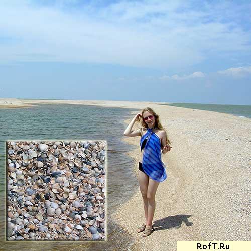 Это пляж, длиною 10 км
