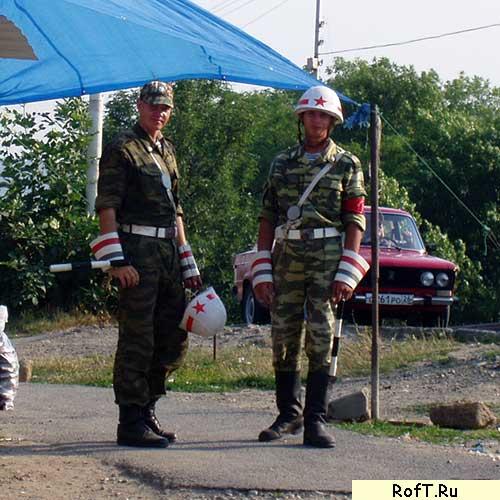 Клоуны на улицах Ставрополя