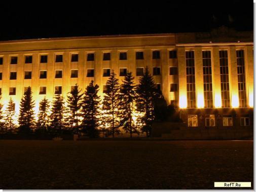 Ночной Ставрополь