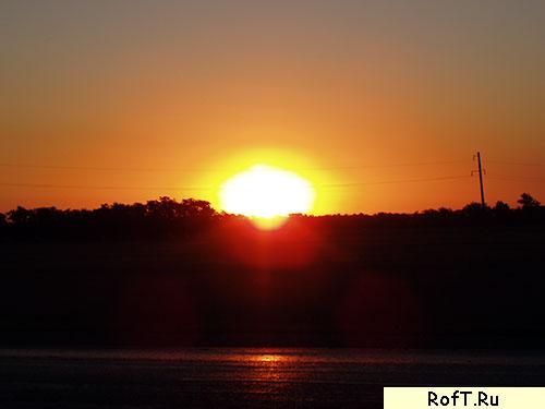 Красивый восход
