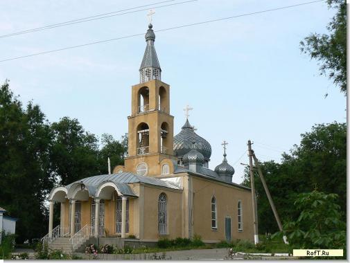 Церковь в Казинке